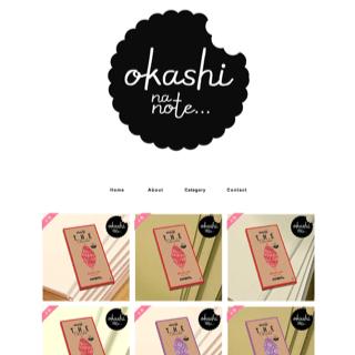 OKASHI na NOTE store / 文具と暮らし。 〜お菓子なノート・オカシなノート〜