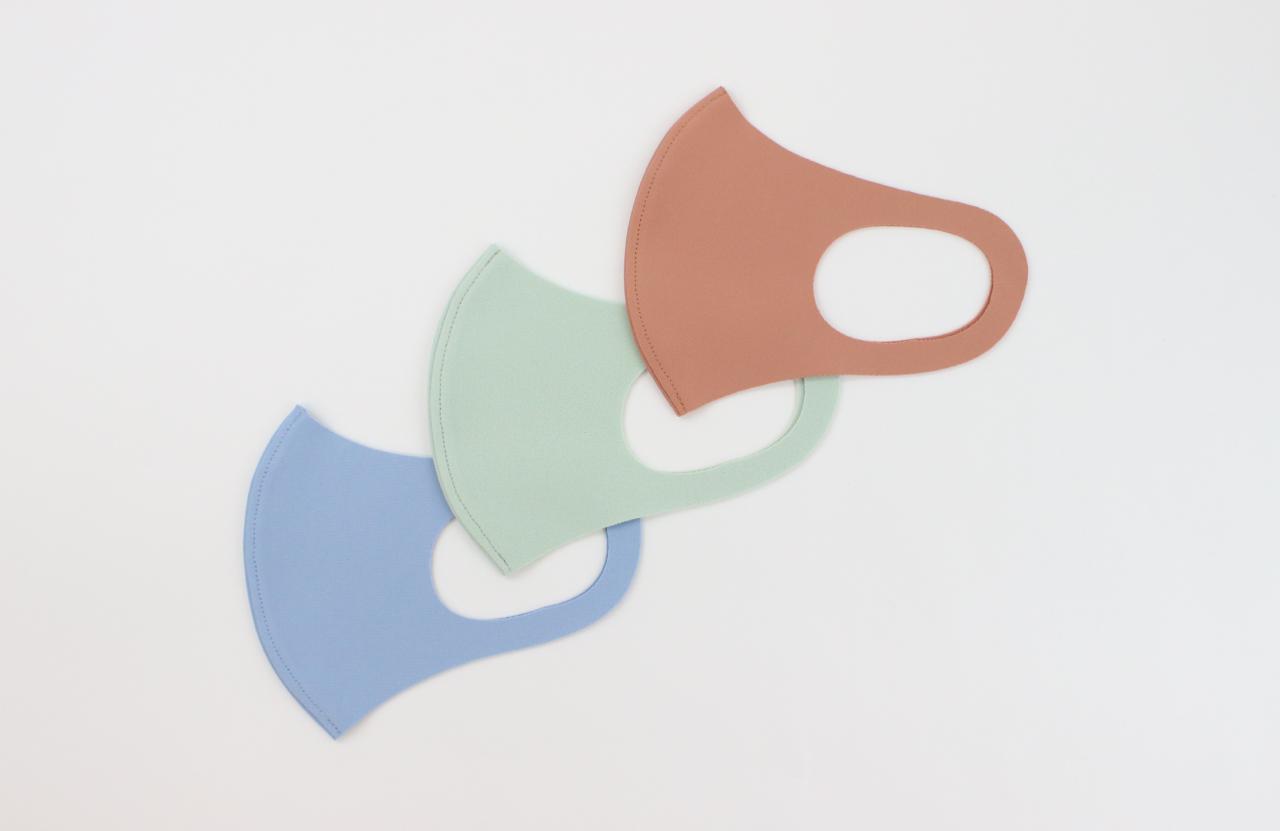 【新商品のお知らせ】「ぷる」パステルカラーマスク 同色2枚入
