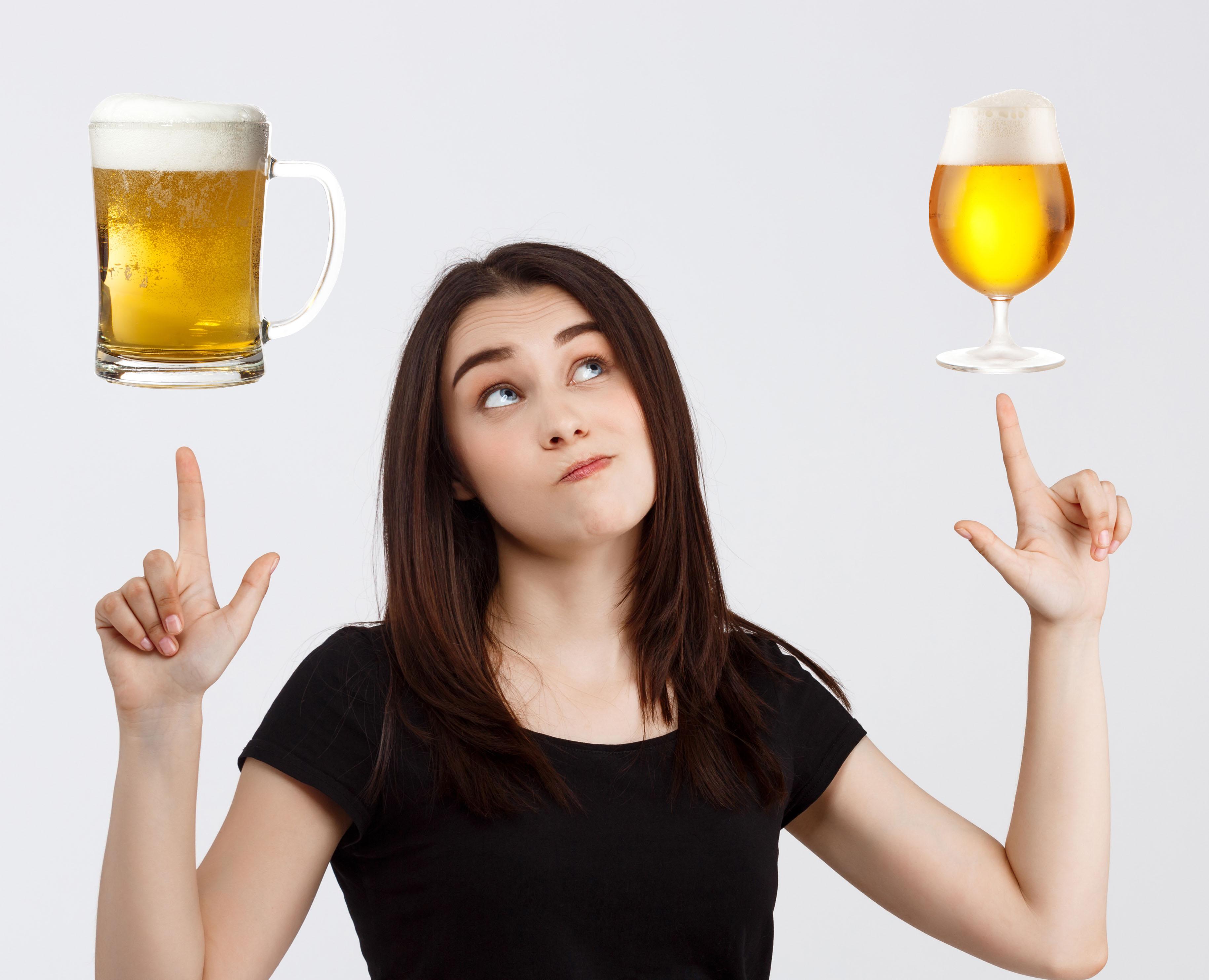 宅飲みビールが一層おいしくなるのはジョッキ?グラス?の話