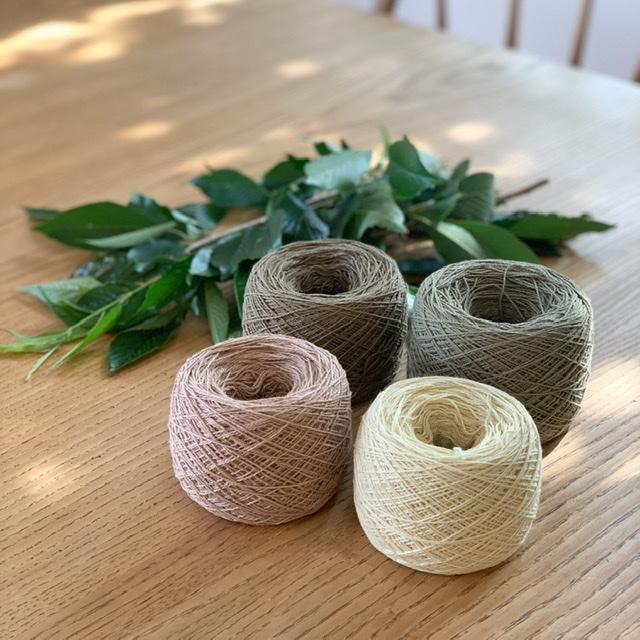 桜染めの糸