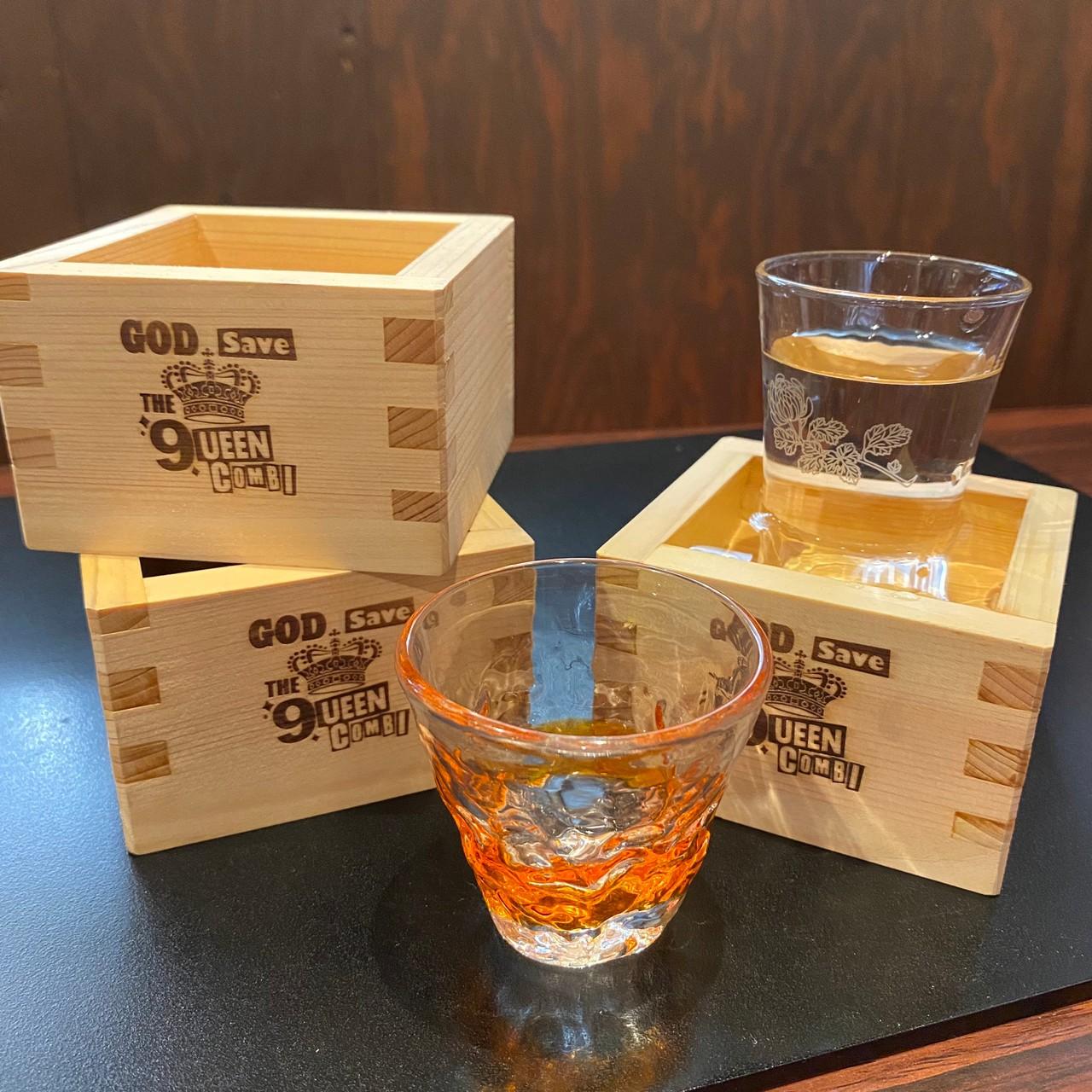 家で飲む日本酒を香り豊かな風味に変える魔法の枡!こんびオリジナルひのき枡