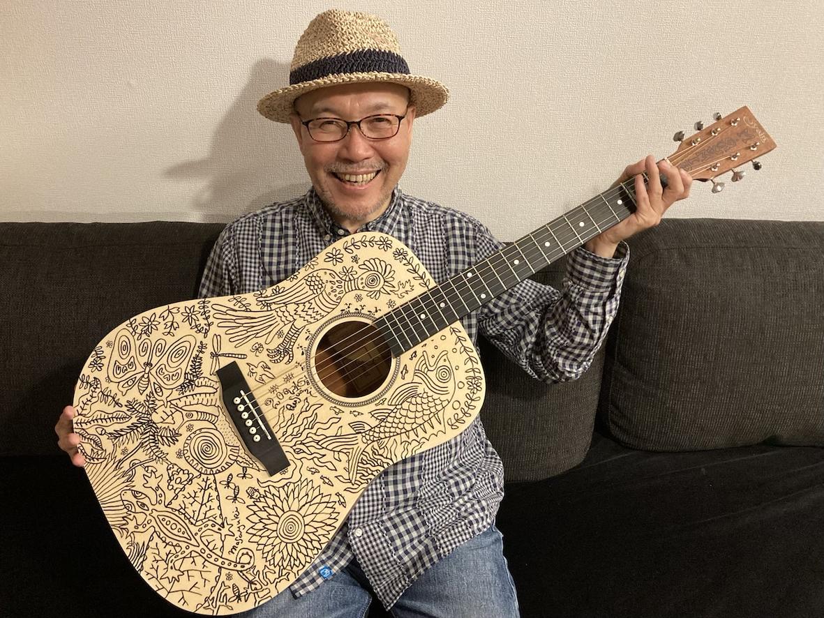 ペイントギター