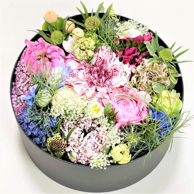 季節の生花 フラワーボックス