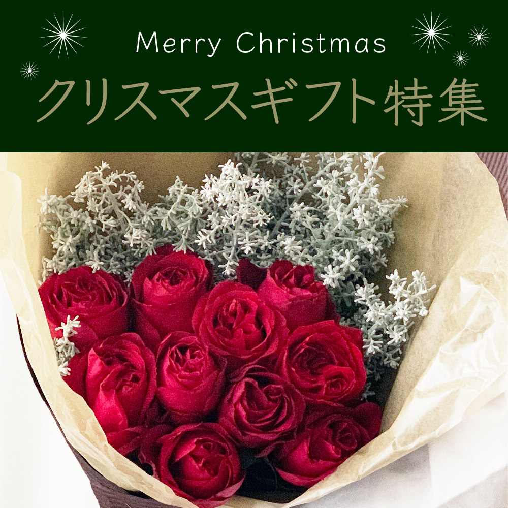 クリスマスギフト!よいはなオススメの花束特集