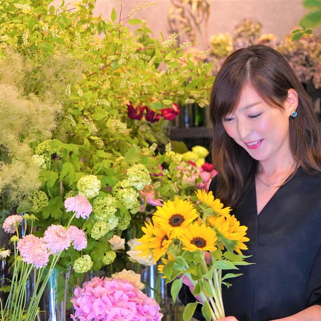 フローリスト Jiphie(ジフィー)堀野 優里さんの父の日特別花束ギフト