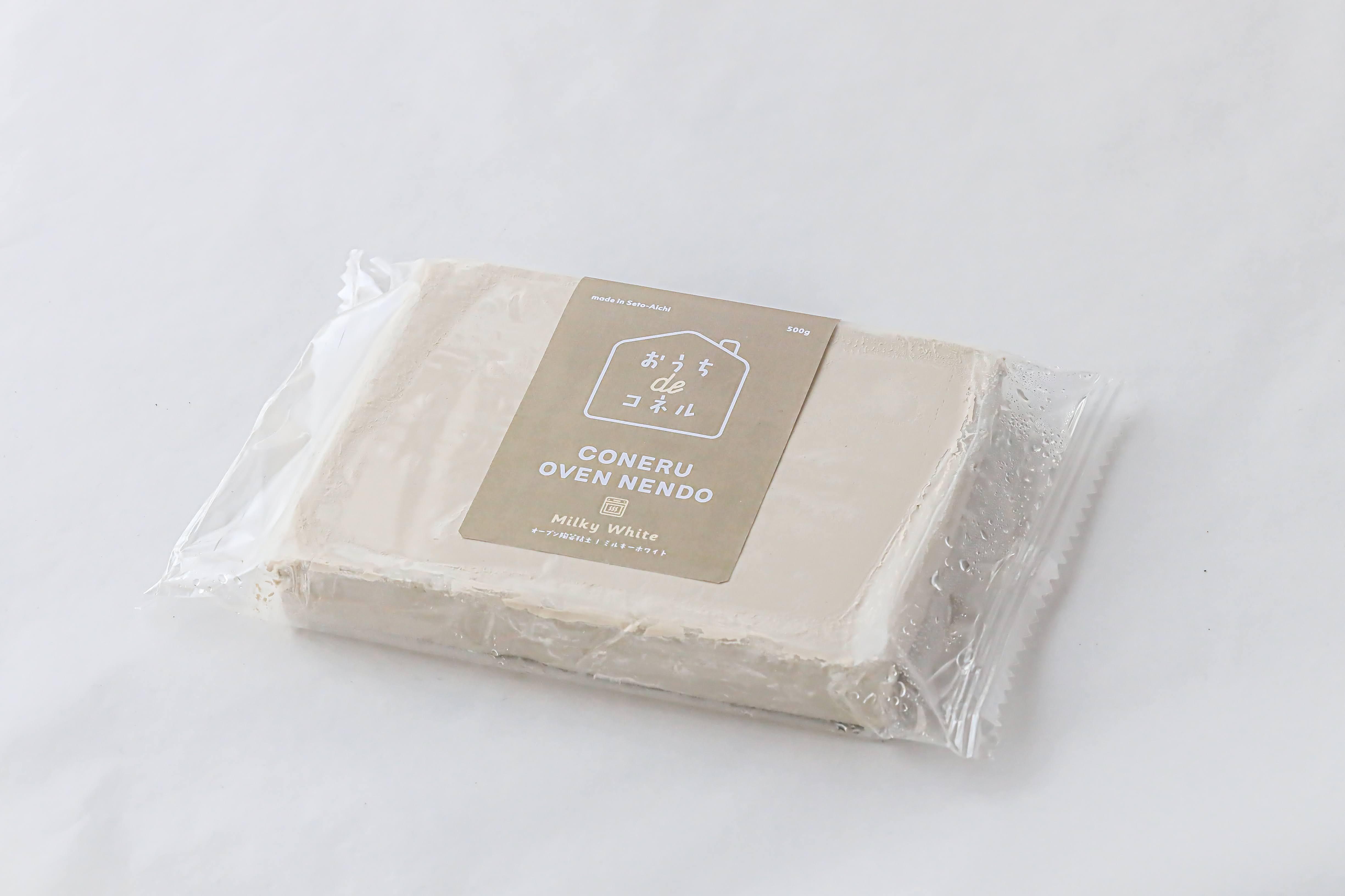 オーブン陶芸粘土『ミルキーホワイト』『きほんのセットD』『全色セット』の再入荷のお知らせ