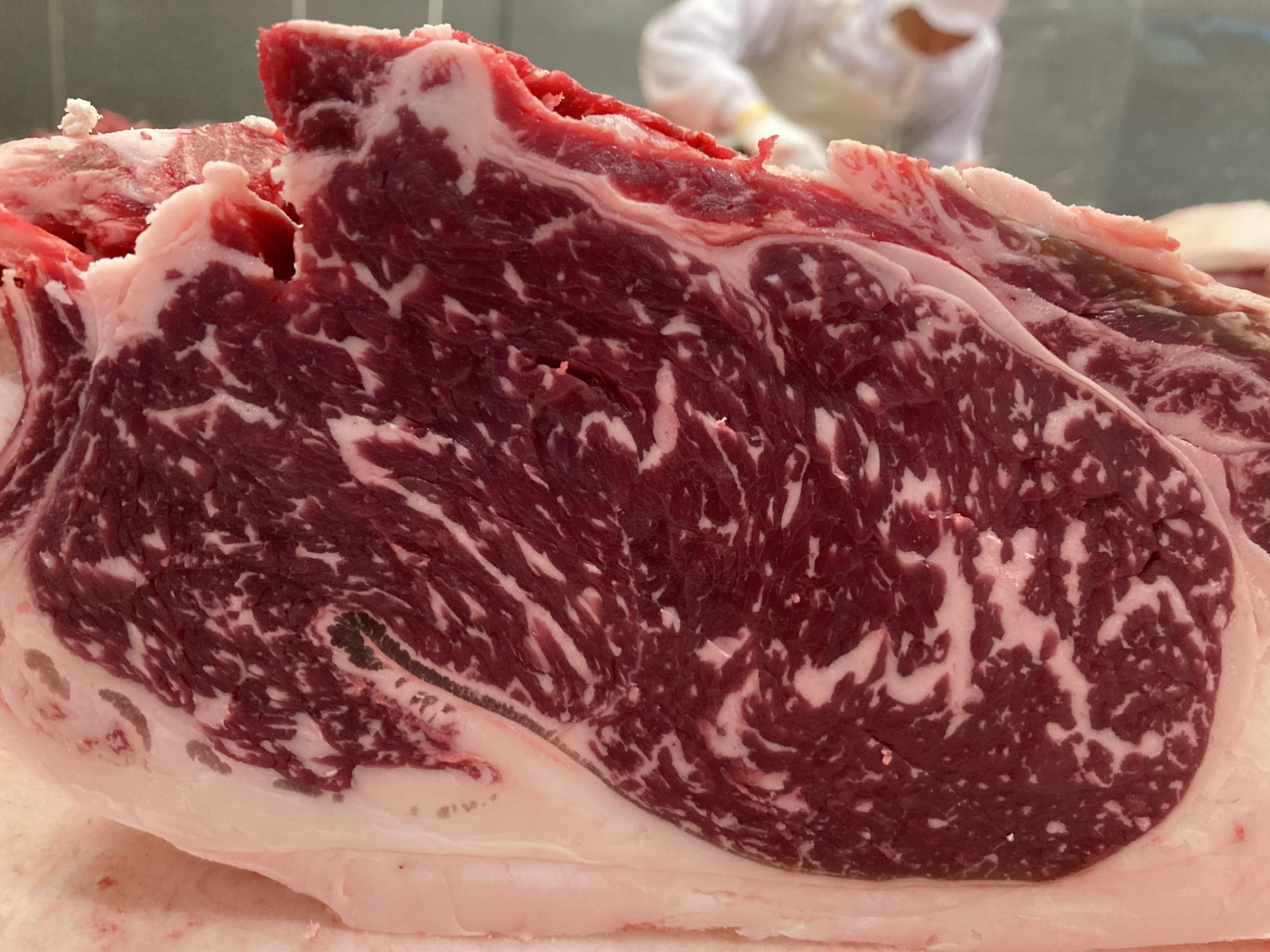 次回販売分のお肉(国分牧場三元牛♀25.6カ月齢)