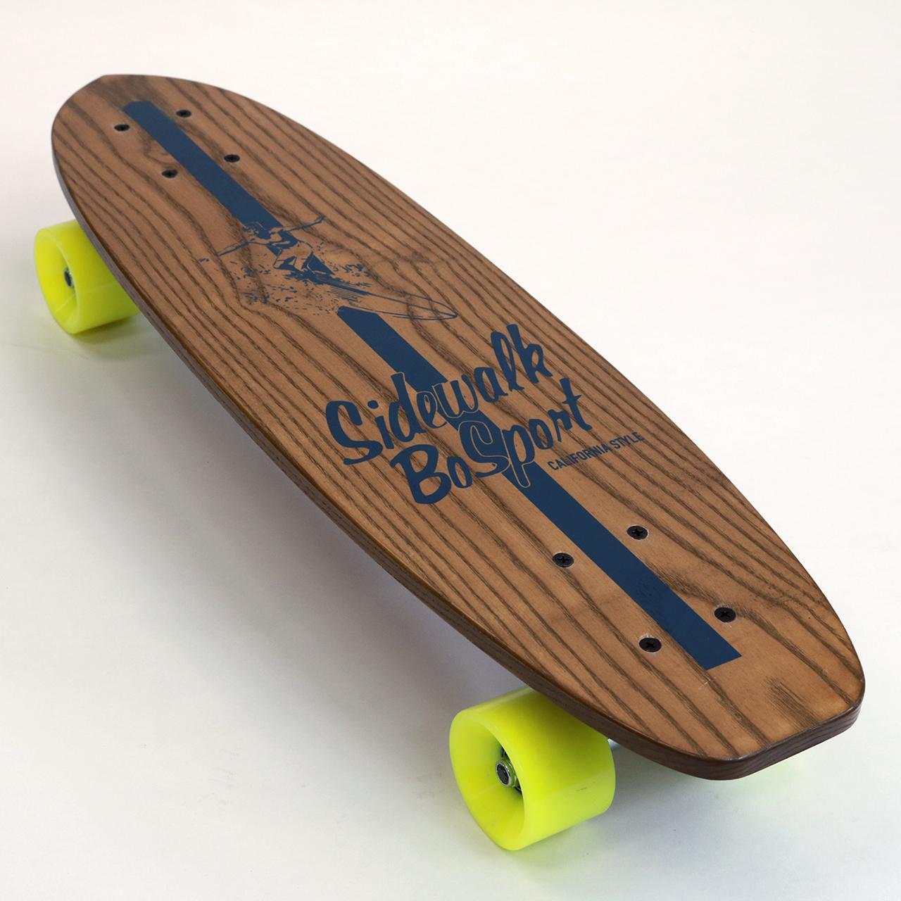 """BO SPORT """"SIDEWALK SURFING"""" SKATEBOARD"""