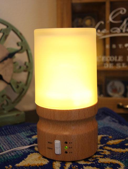 空気の清浄に!!『タイマー&LEDライト付★アロマランプ』30%OFF!