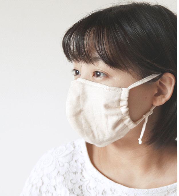 化学物質過敏症・アレルギー対応のマスクをさらに快適に改良しました。