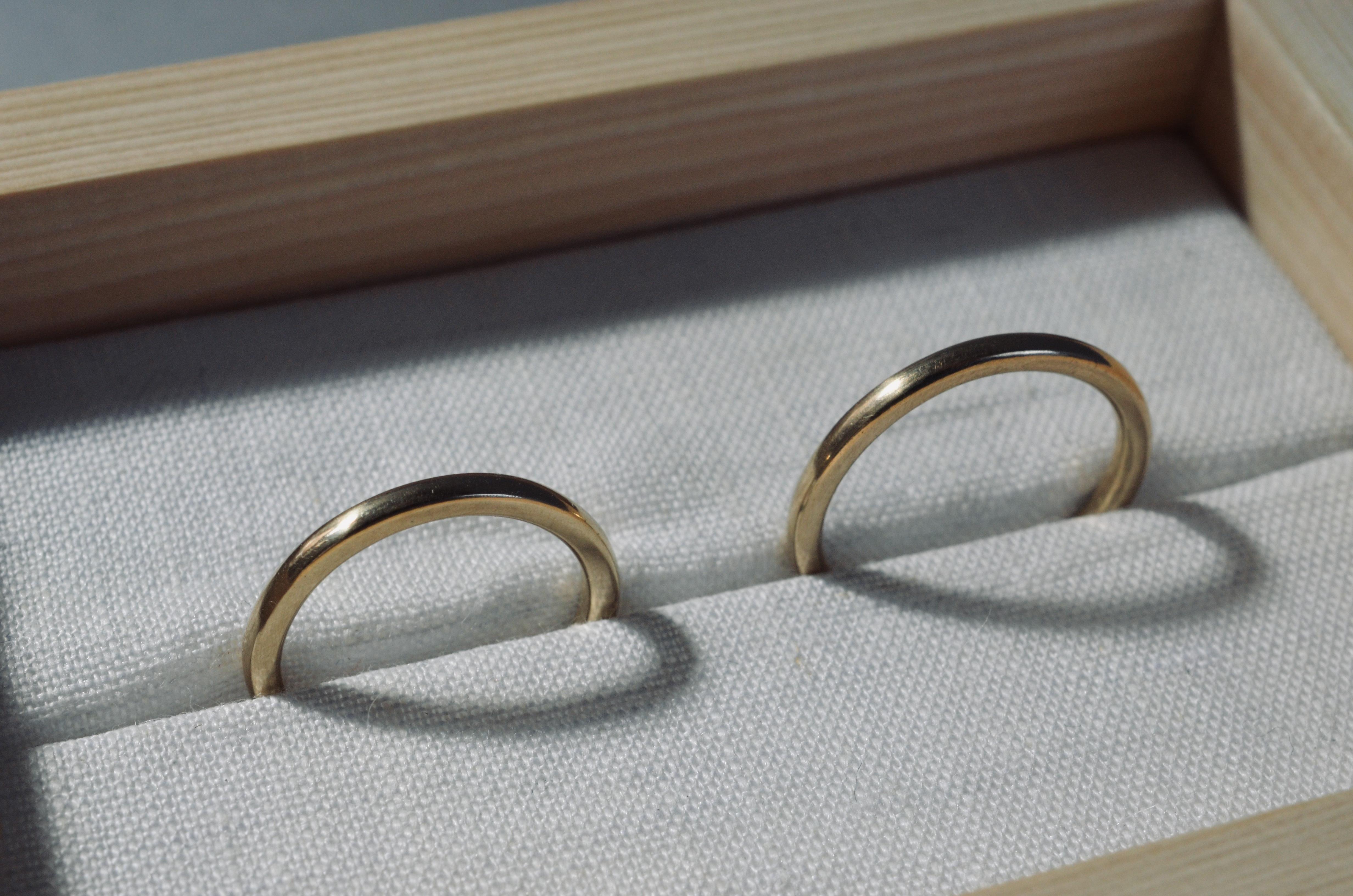 東京からのご依頼指輪