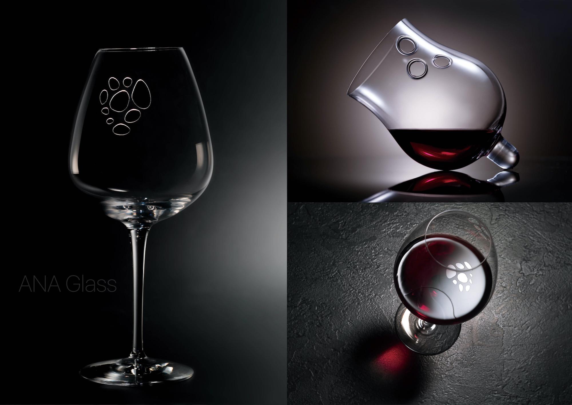 孔グラスのデザインコンセプト