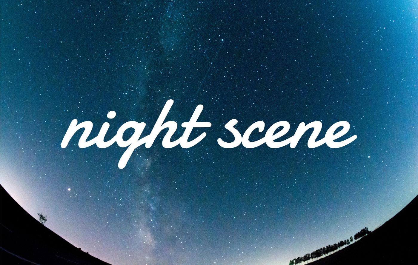 nightsceneオープンしました。