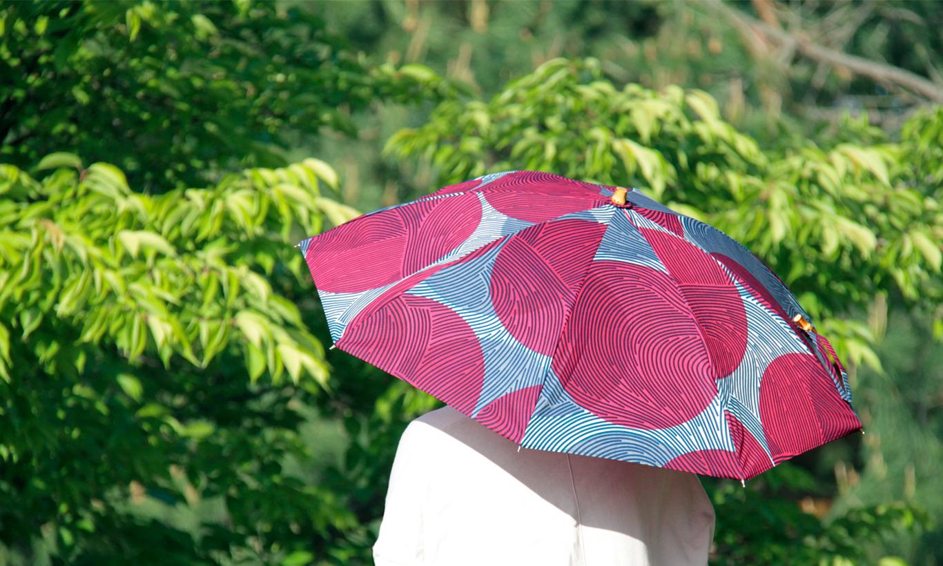 2021年日傘のオンライン先行販売をいたします