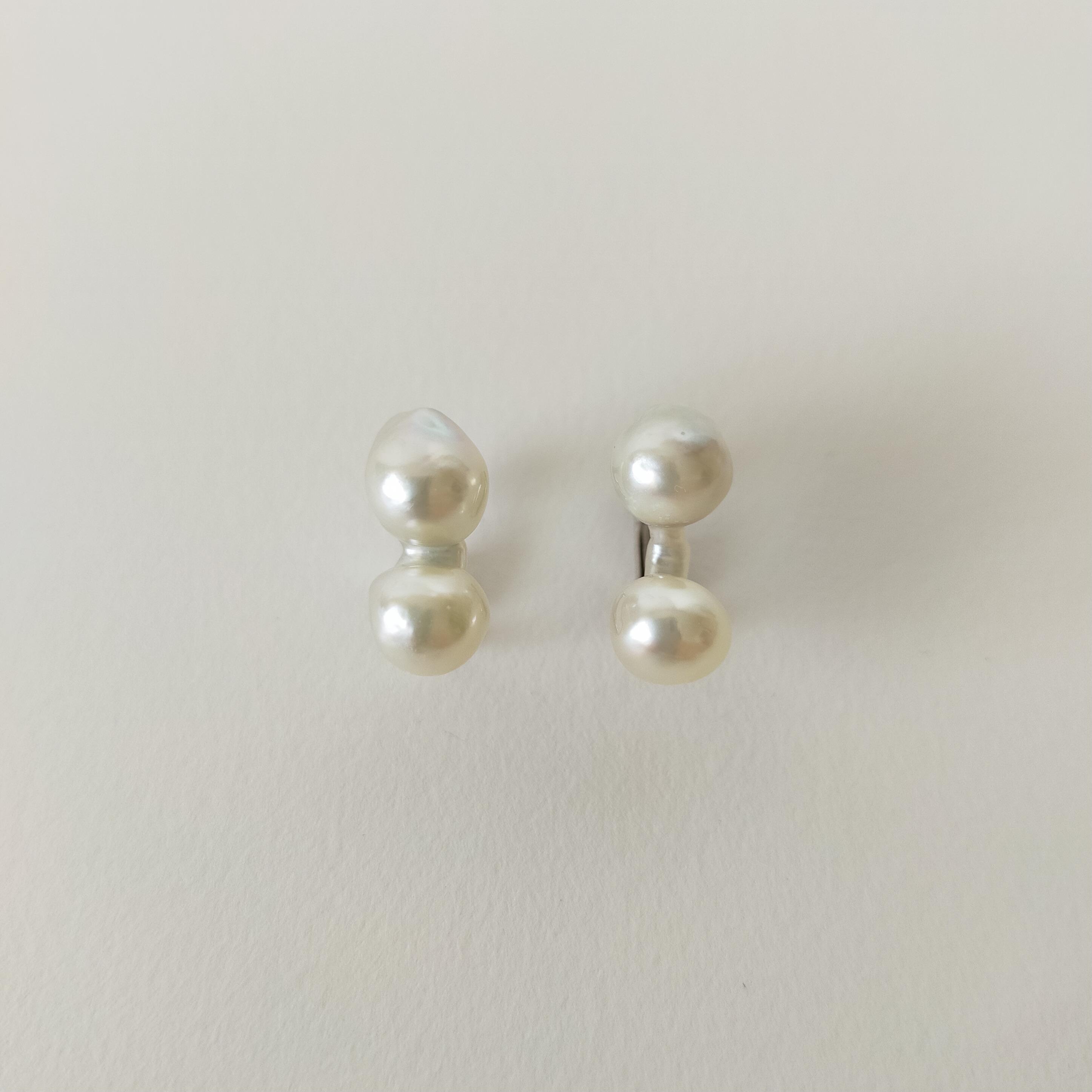 あこや真珠 偶然にできた形『ブリッジパール』