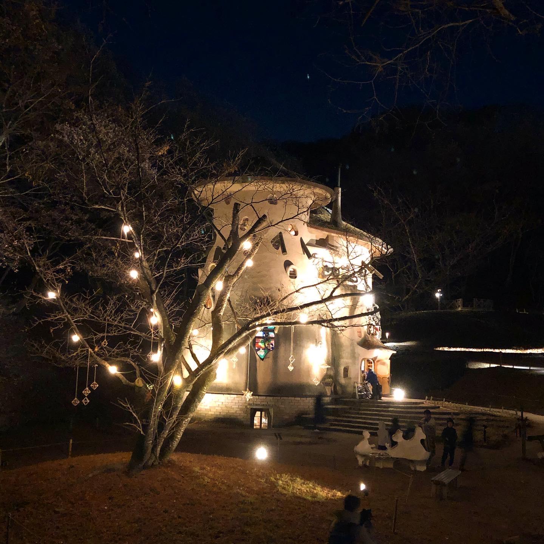 🌲夜のあけぼの子どもの森公園🌛
