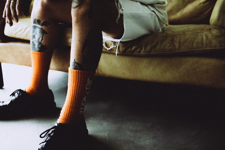 Socks: LOGO