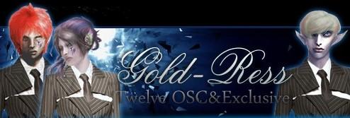 初めまして!Gold-Ress Twelve_Oscillator&Exclusiveでございます。