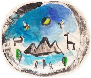 穂高岳山荘のバンダナのデザインは、ネパールの森と宇宙とつながっている<デザイナーインタビュー>