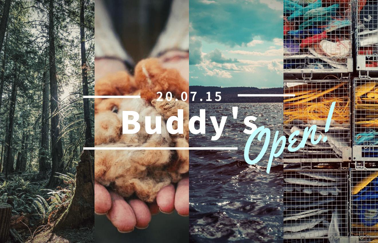 Buddy'sオープンしました!