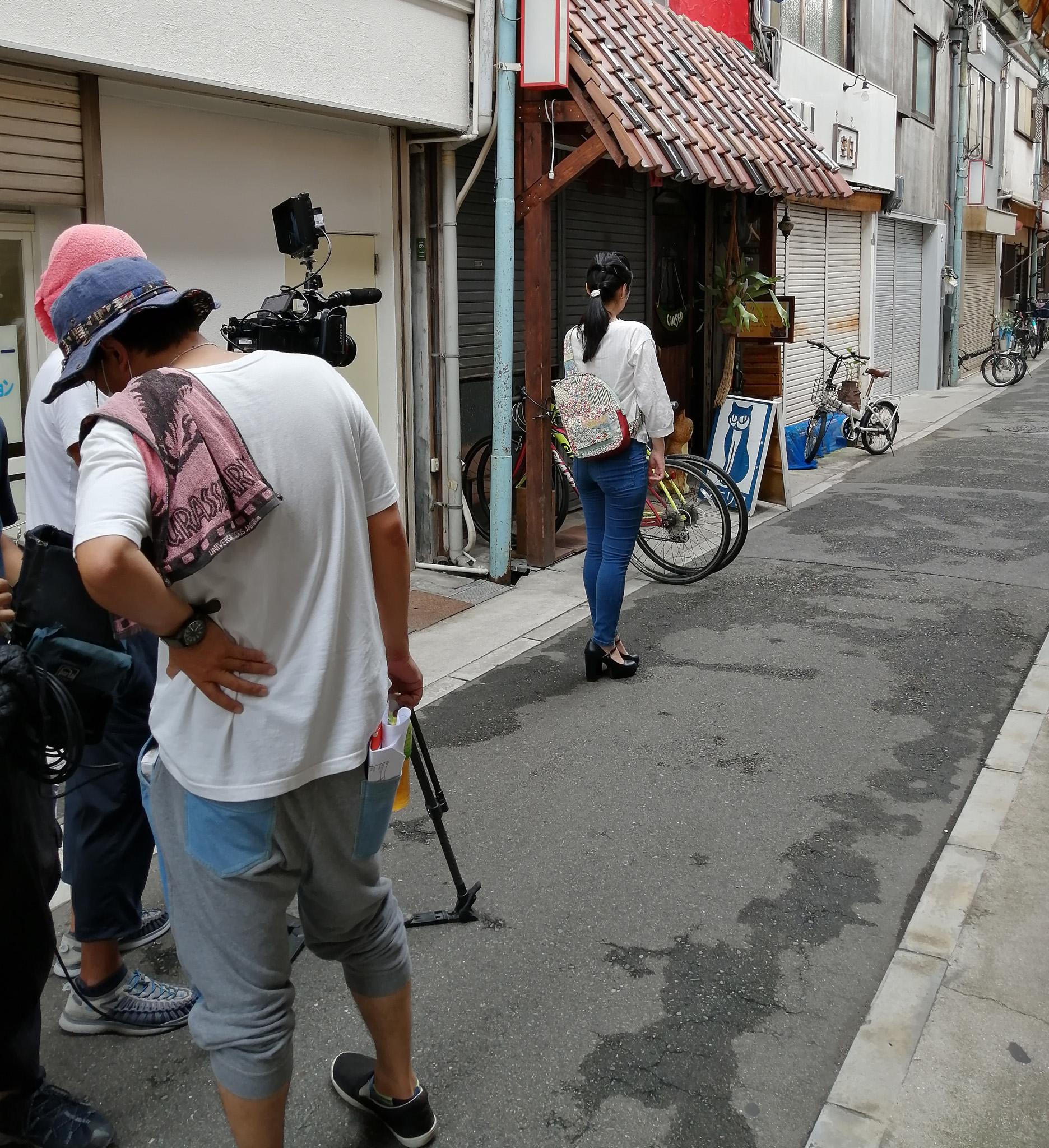 TVの撮影 & 通常営業しています & 百貨店催事