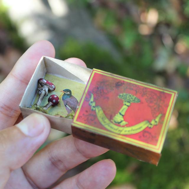 ベニテングタケのマッチ箱
