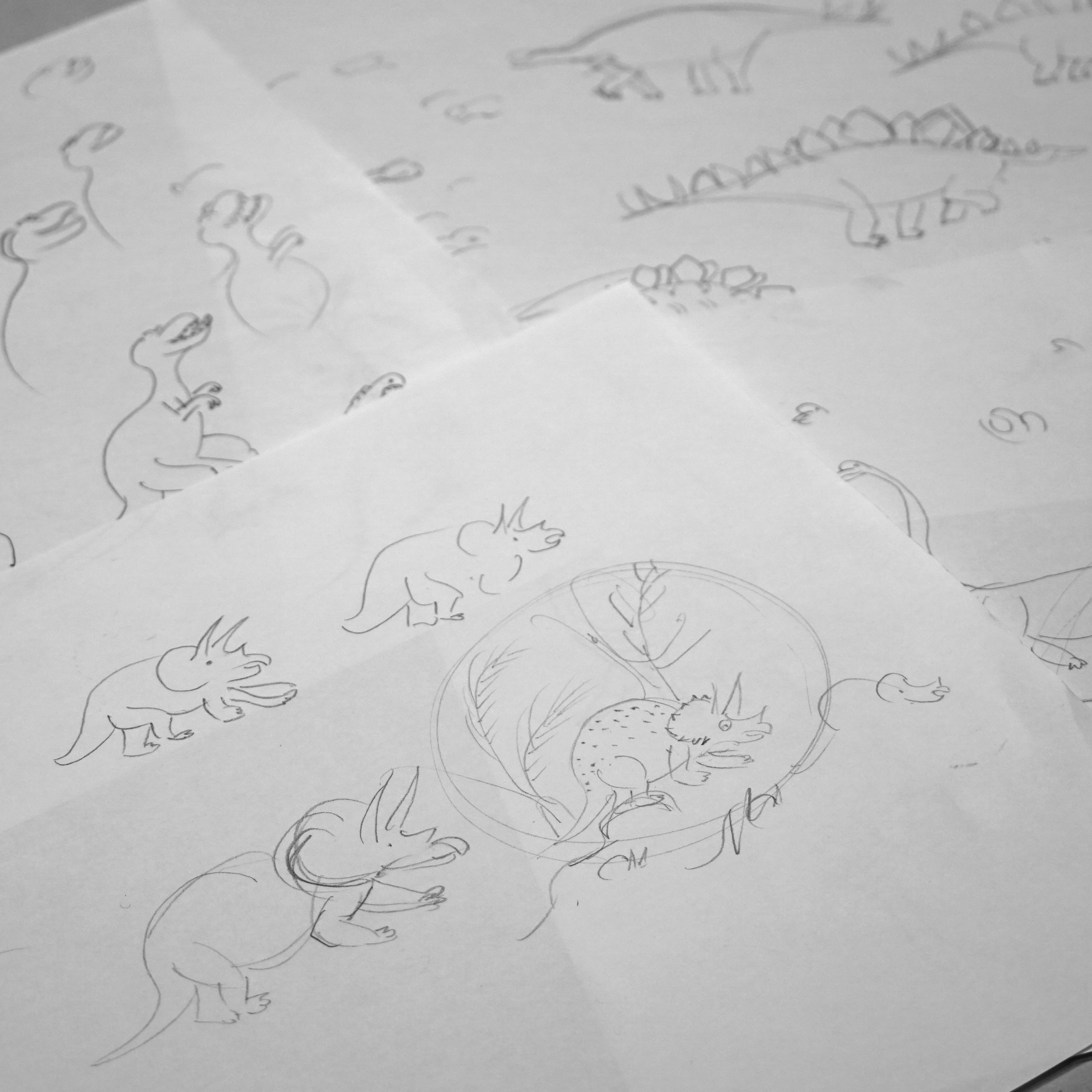 FAQ 1 「恐竜が好きですか?」by Mirjam