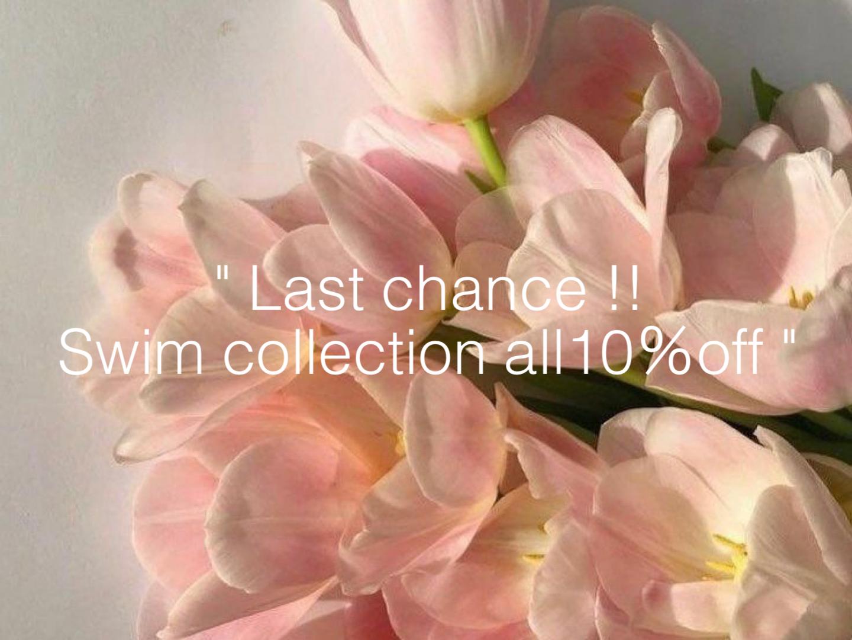 ラストチャンス!SWIM COLLECTION ALL10%OFF❤︎