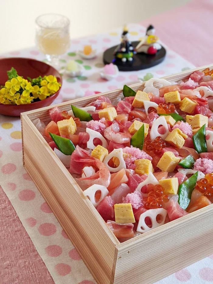 昆布〆を使ったチラシ寿司レシピ