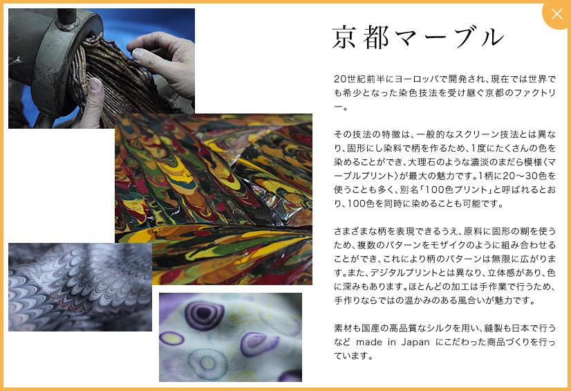 Dessin de Mode【デッサン ド モード】京都マーブル商品のご 紹介です。