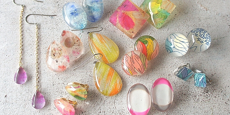 Party Of Glass Cabochon Accessories