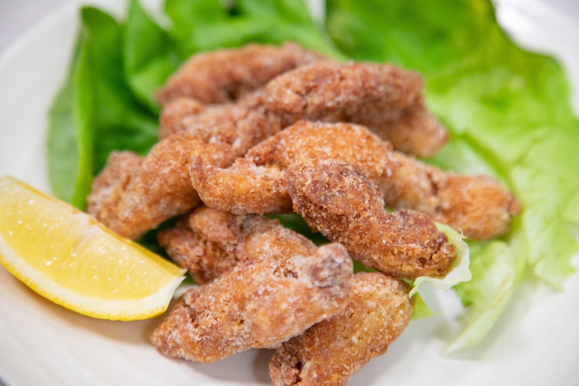 【#レシピ】チキンナゲット風から揚げ #大豆ミート  #スプレーミート のおすすめレシピ