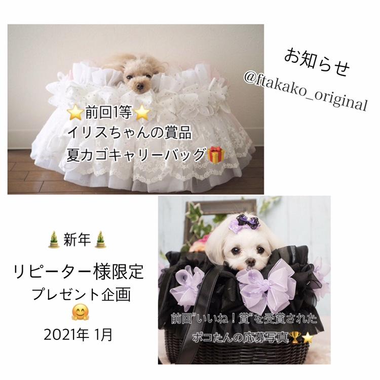 Instagram限定〜新年リピーター様限定 プレゼント企画〜