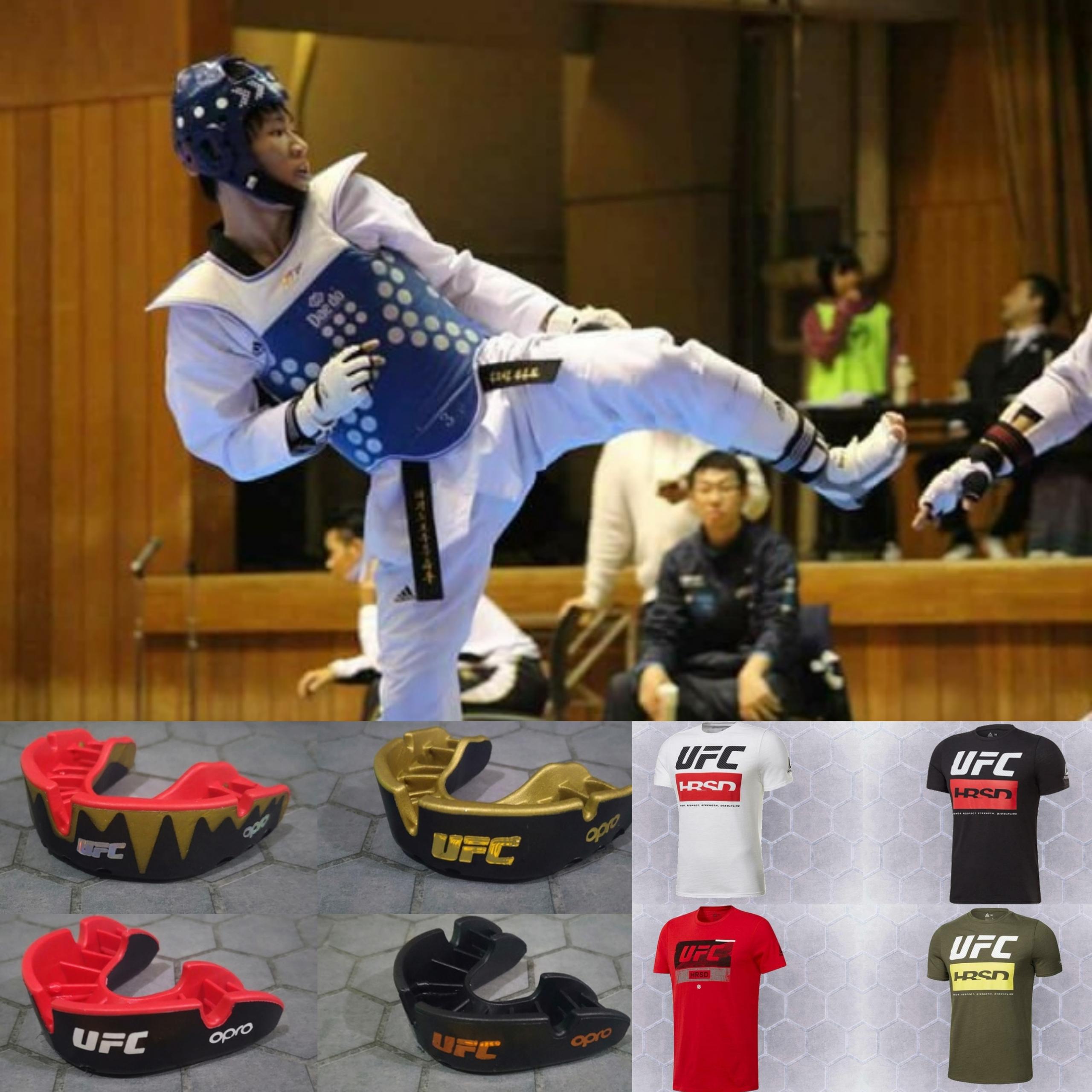 UFCアウトレットTシャツ&OPROマウスガード