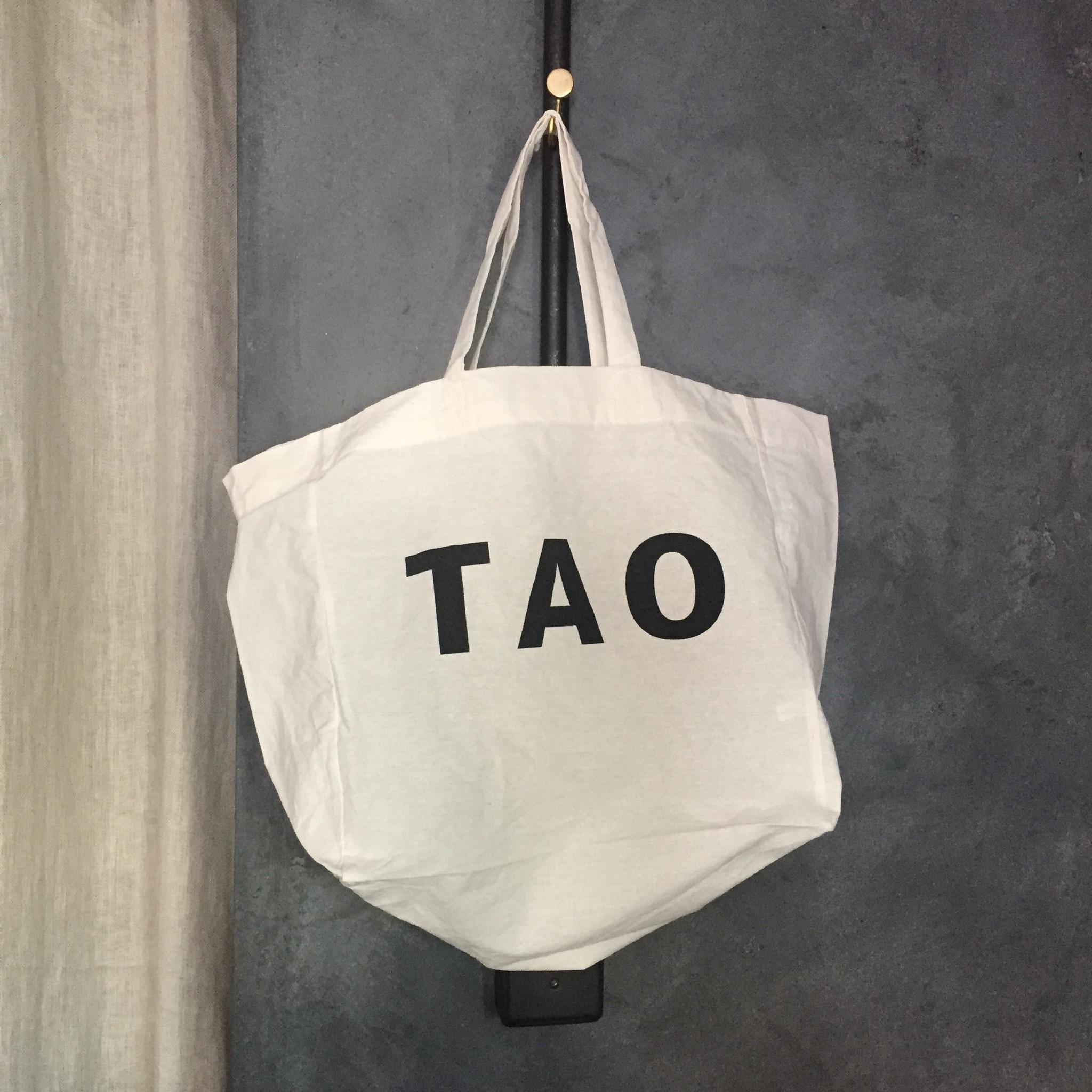 TAOの新商品を5000円以上お買い上げのお客様にオリジナルエコトートバックをプレゼント!