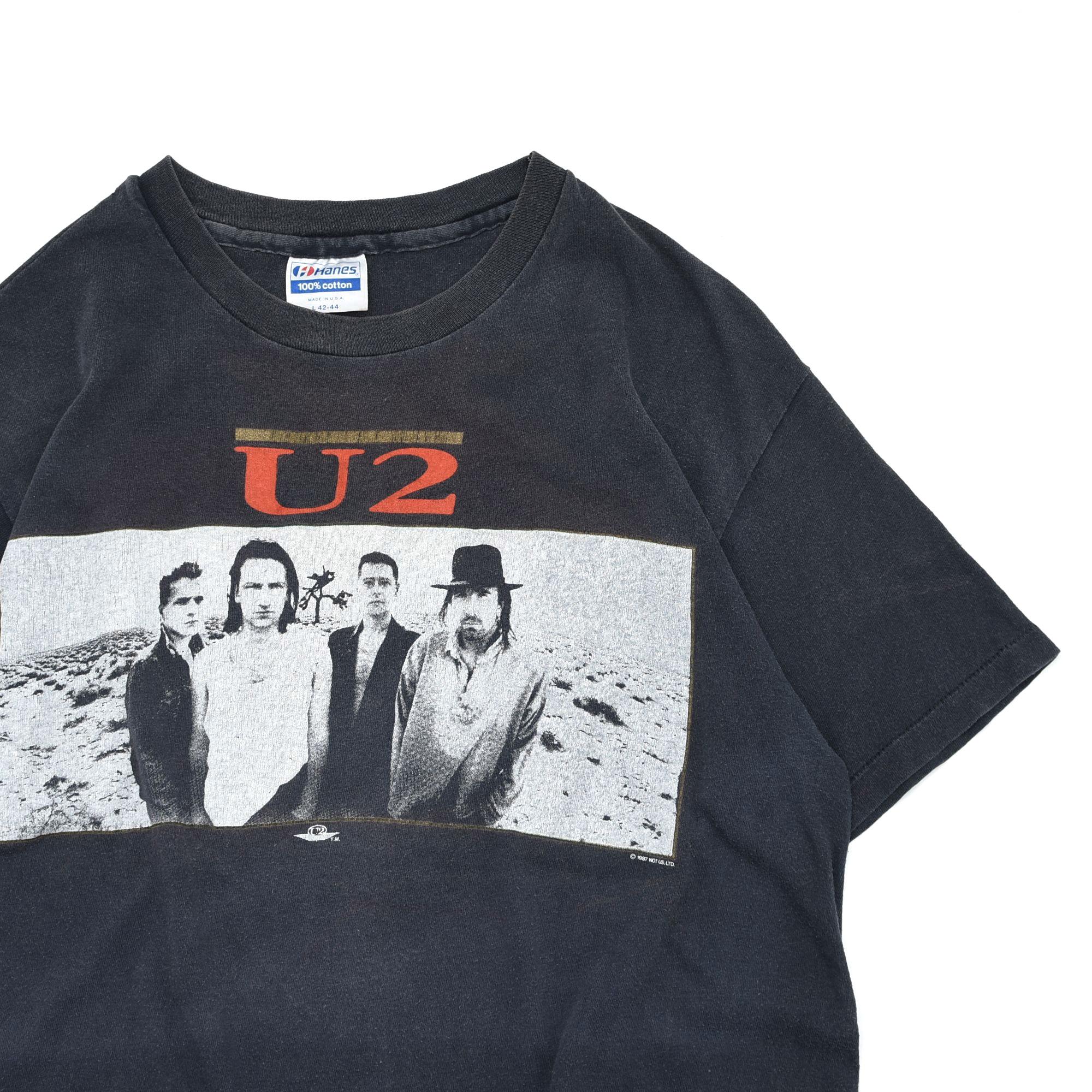 ヴィンテージバンドTシャツは褪せてるほうがカッコイイ説✨80S U2 ツアーTシャツ