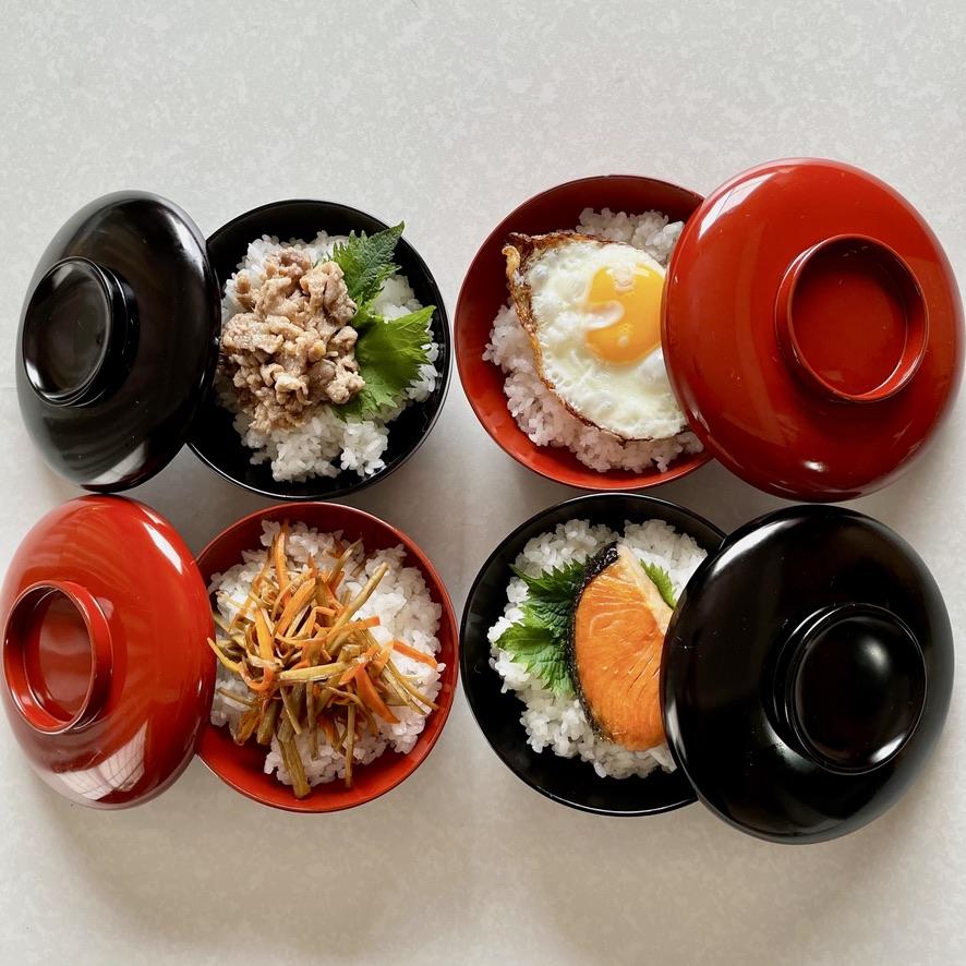 [古道具・器  ハナレ きりゅう] オタノシミチビ弁当
