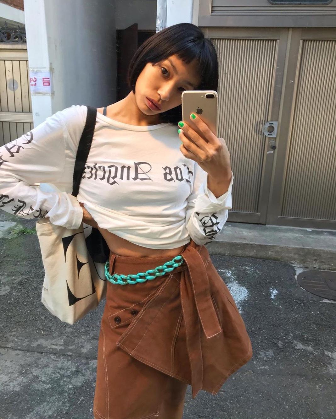 韓国DJ/モデル キム•アナさん