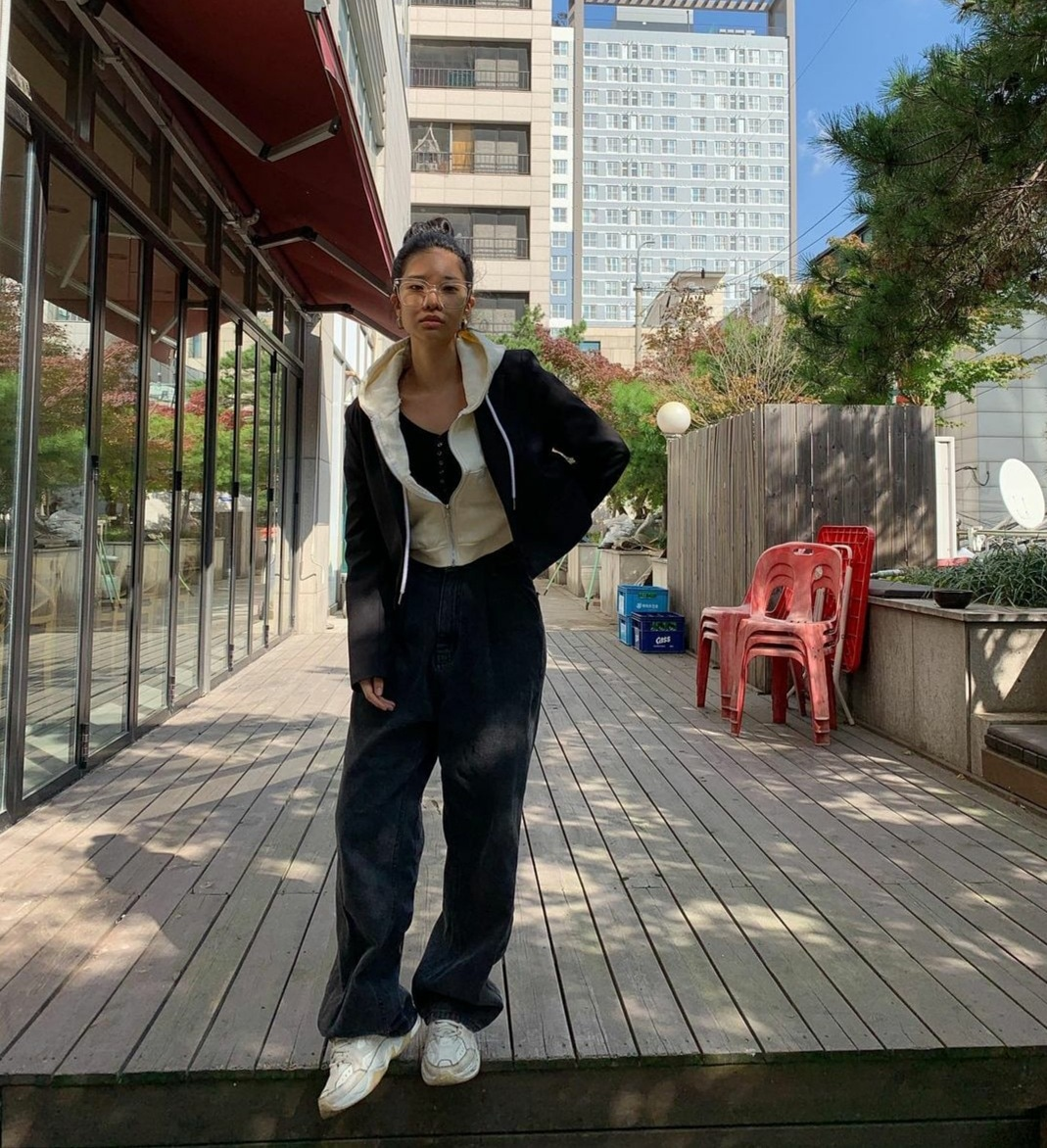 韓国モデル ベク•ジェニーさんPROVO着用♡