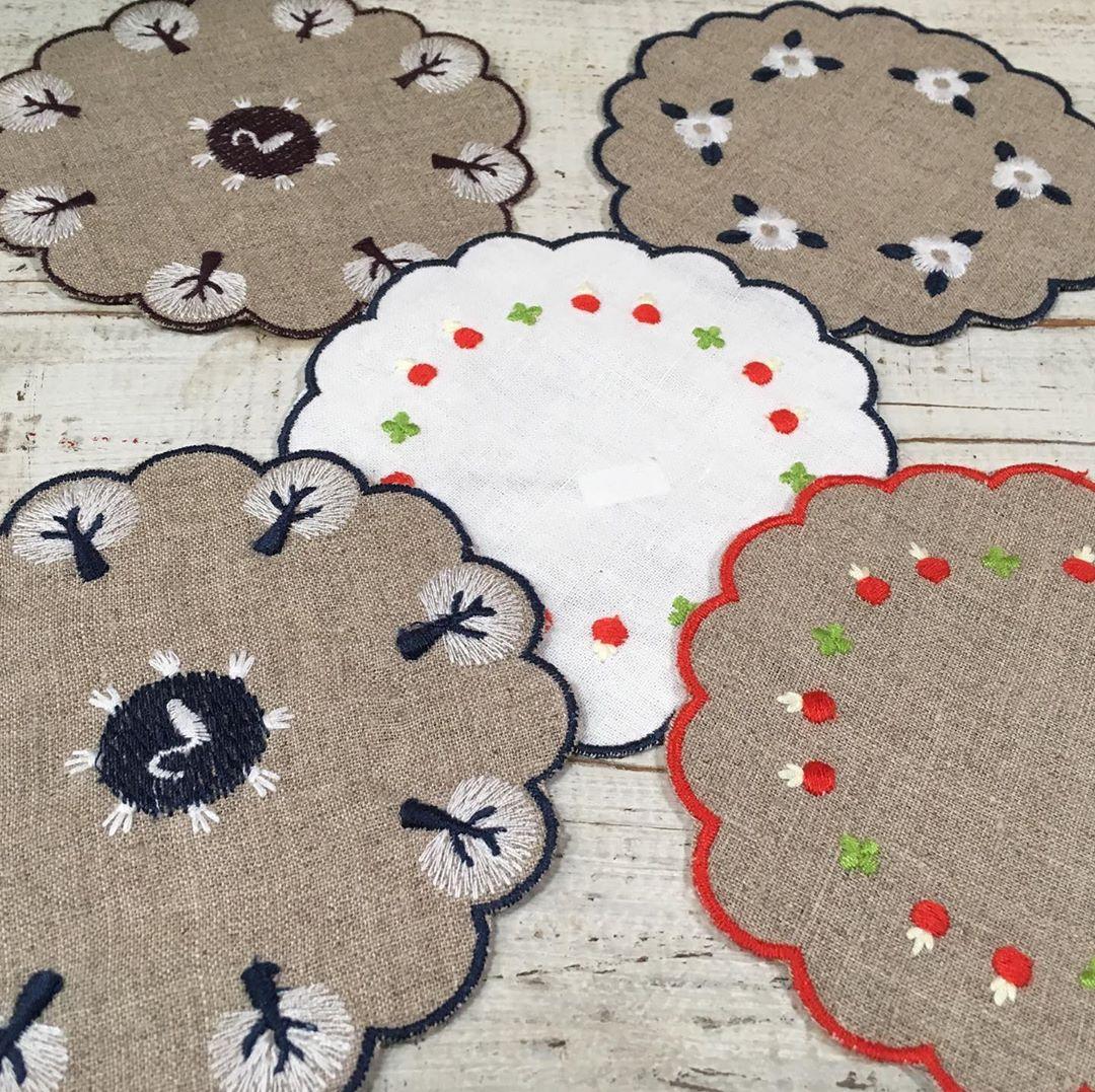 スワトウ刺繍の雑貨