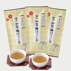 特上加賀棒ほうじ茶 3袋セット☆彡