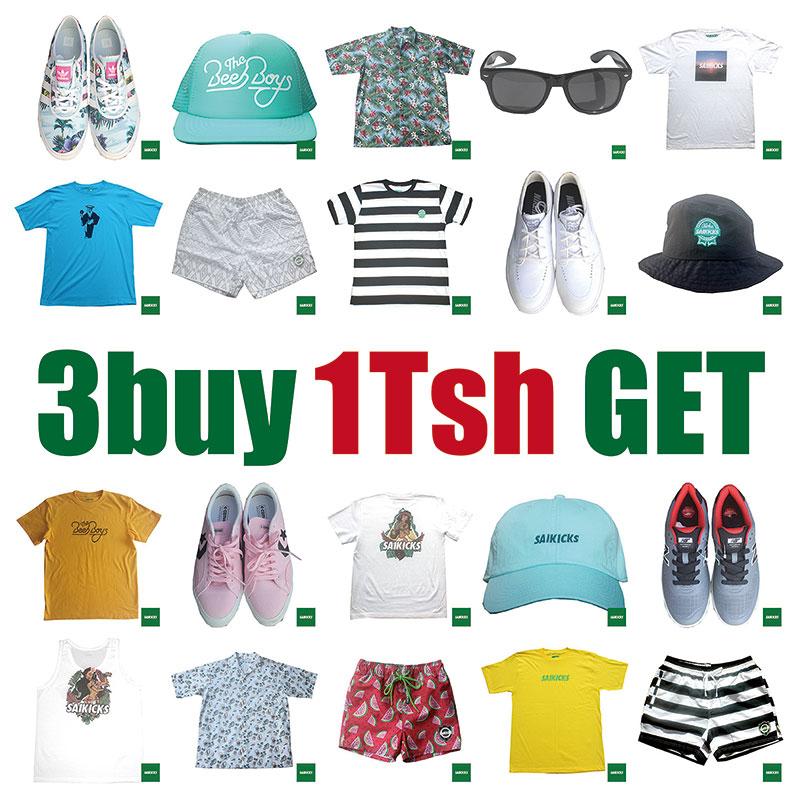 3 buy 1 Tsh GET
