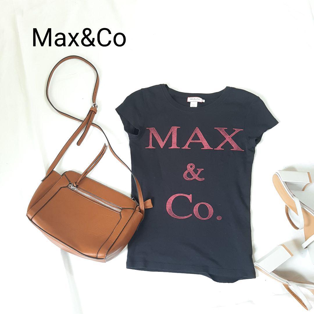 大人気のMAX & Co. 半袖カットソー Tシャツ ボックスロゴ入荷しました!