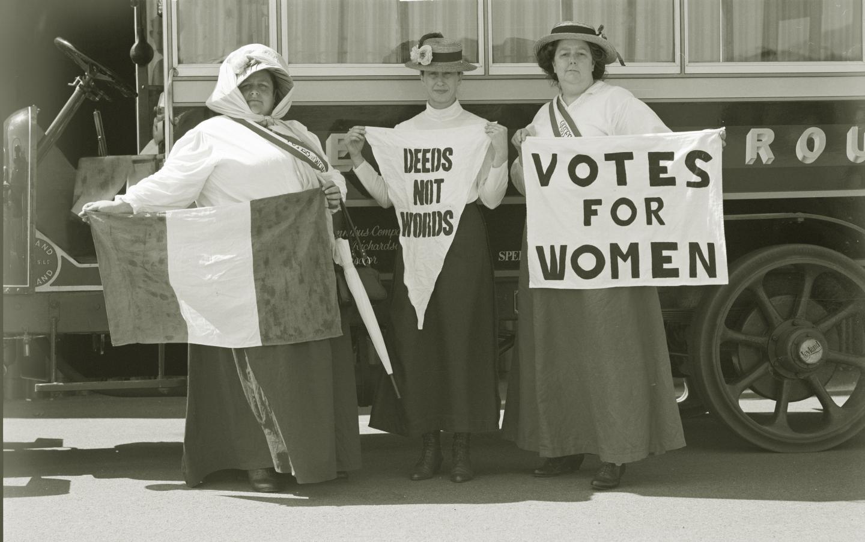 サフラジェットの歴史~イギリスの女性参政権獲得運動~