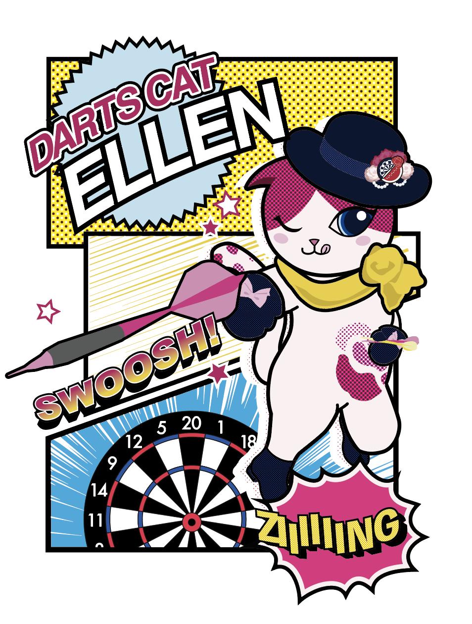 【アニメ調】エレンちゃんの新しいイラストですって!