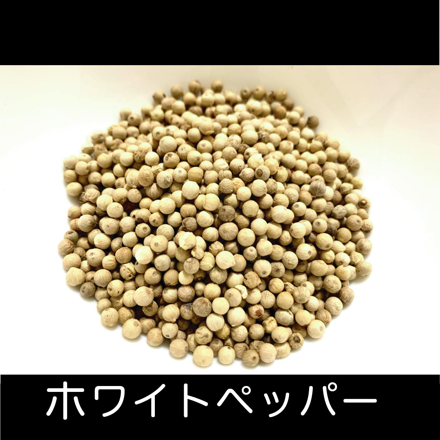 クラフトコーラの食材紹介 vol.8 ホワイトペッパー
