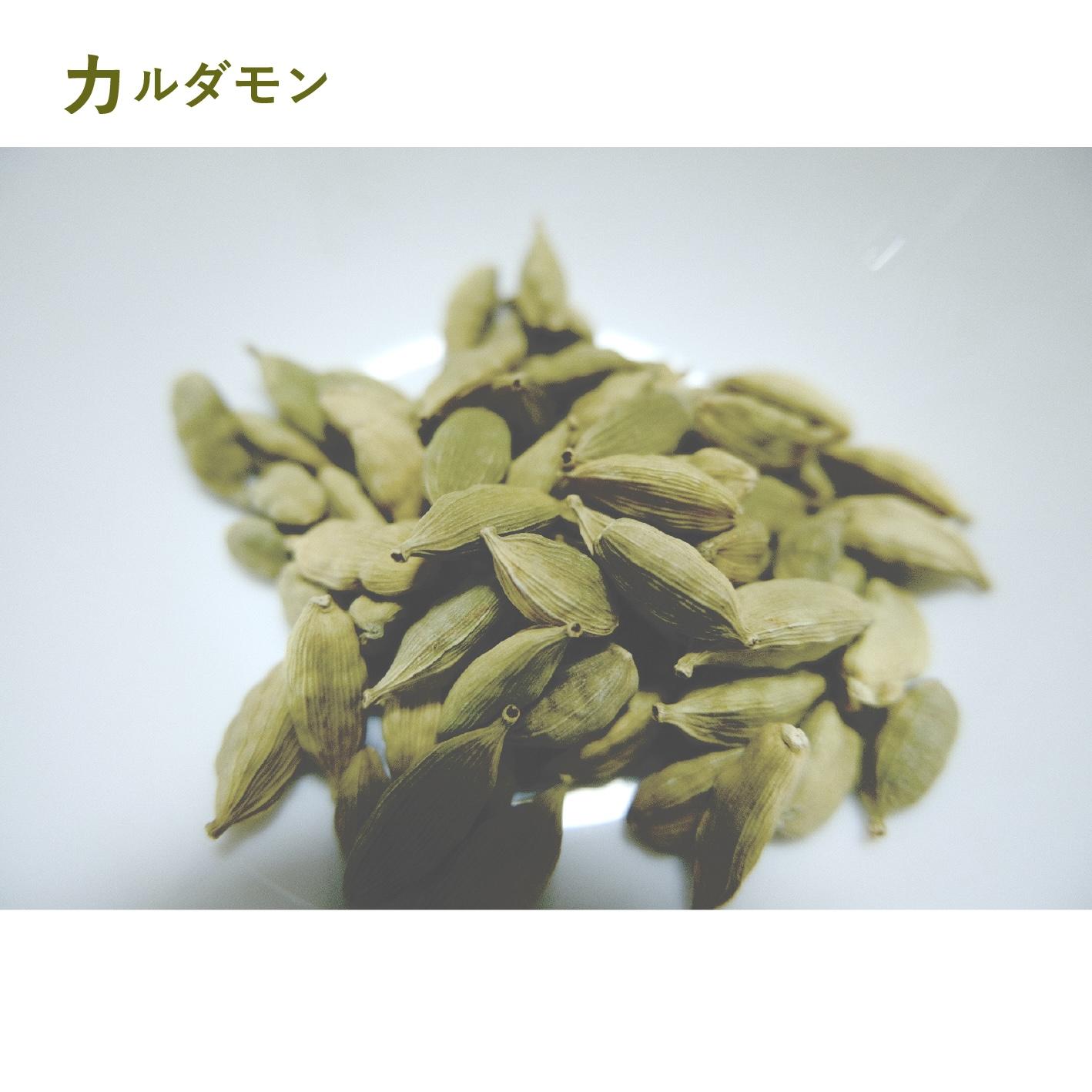 クラフトコーラの食材紹介 vol.1 カルダモン