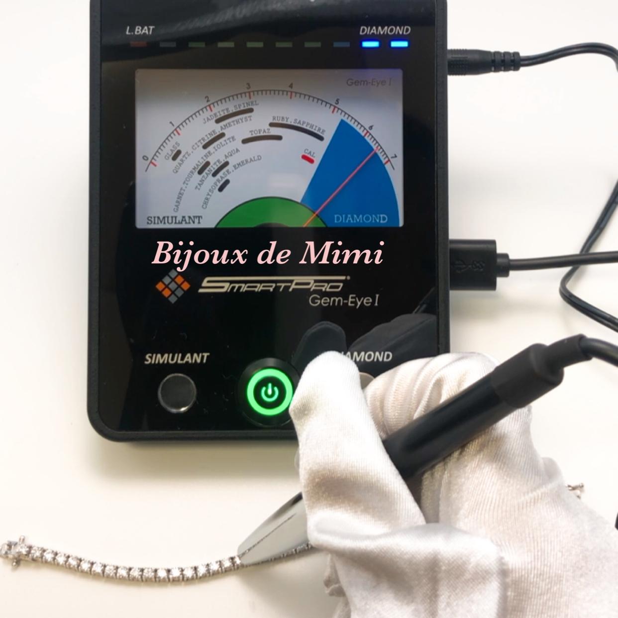 Bijoux de Mimiはモアサナイトの正規取扱店です