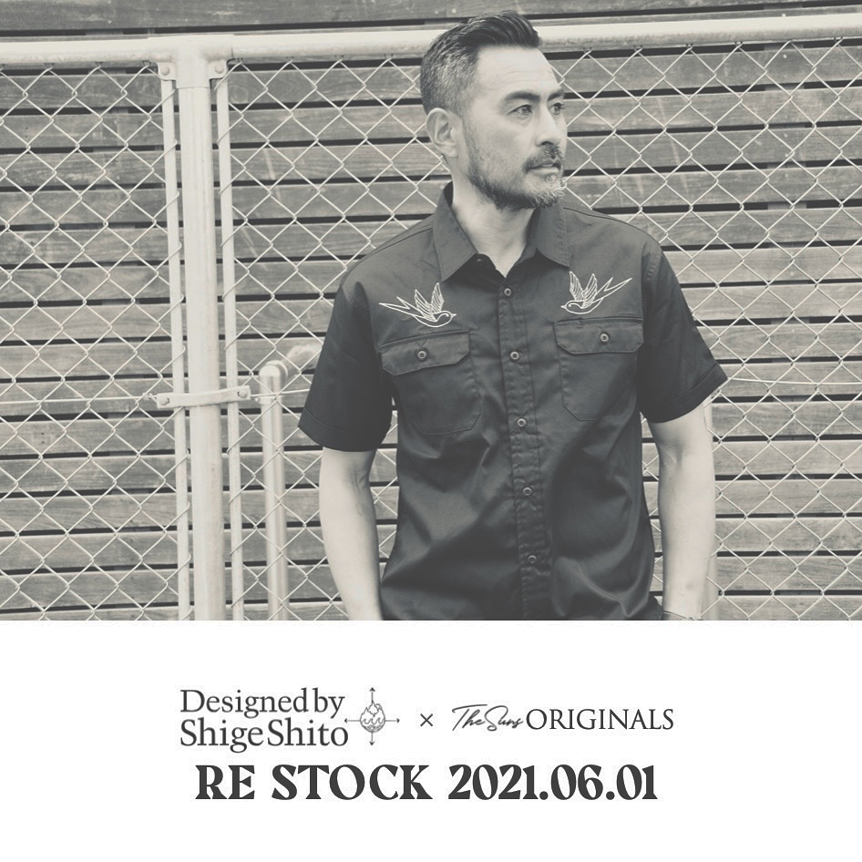 《RE STOCK》Designed by Shige Shito ×THE SUNS