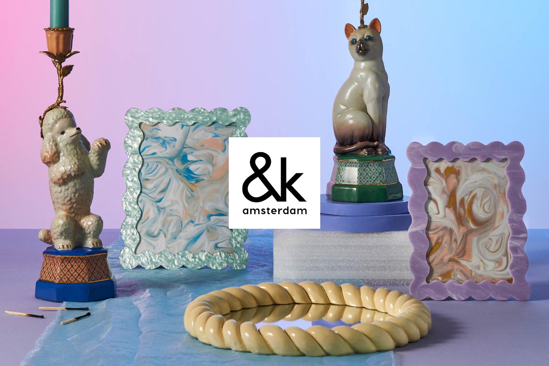 新ブランド「&k amsterdam」追加!